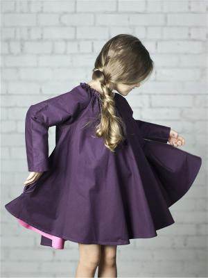Платье Сливовое Sardina Baby