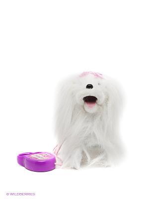 Интерактивный щенок Жульетта Играем вместе. Цвет: белый