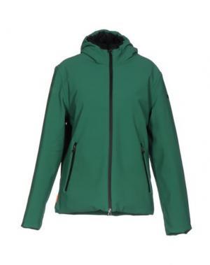 Пуховик RRD. Цвет: зеленый