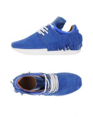 Низкие кеды и кроссовки ESSEUTESSE. Цвет: ярко-синий