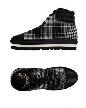 Высокие кеды и кроссовки SGN GIANCARLO PAOLI. Цвет: черный