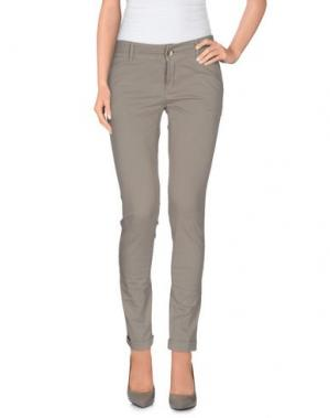 Повседневные брюки OPERÀ. Цвет: серый