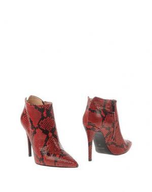 Ботинки BIANCA DI. Цвет: красный