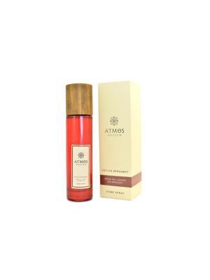 Спрей (парфюм) для дома Цейлонский Бергамот / Home spray (perfume) Ceylon Bergamot ATMOS Moscow. Цвет: красный