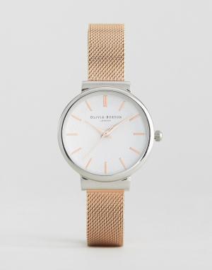 Olivia Burton Металлические часы Hackney. Цвет: золотой