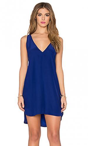 Мини платье vita Amanda Uprichard. Цвет: синий