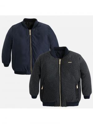 Куртка-трансформер Mayoral. Цвет: синий, антрацитовый