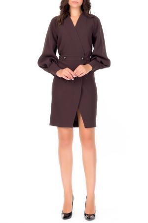 Платье XARIZMAS. Цвет: коричневый