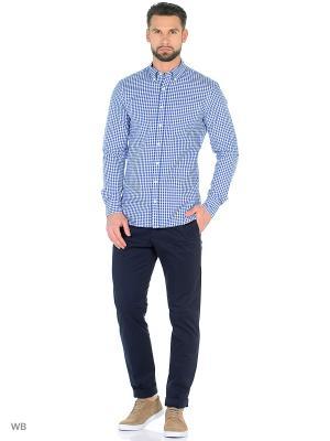 Рубашка - VICHY8 MANGO MAN. Цвет: темно-синий