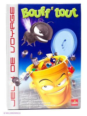 Настольная игра Осторожно, мухи!, мини версия GOLIATH. Цвет: желтый, синий