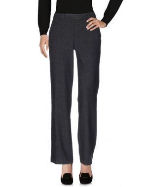 Повседневные брюки E-GÓ. Цвет: стальной серый