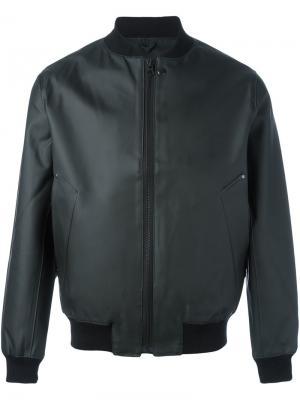 Куртка-бомбер Vasterto Stutterheim. Цвет: чёрный