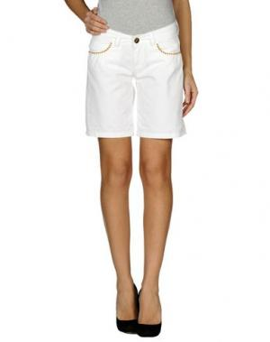 Повседневные шорты FLY GIRL. Цвет: белый