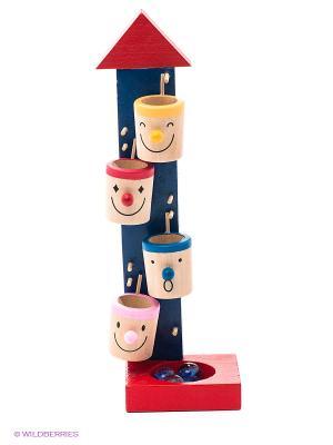 Игрушка Веселые ведерки VELD-CO. Цвет: темно-синий, красный