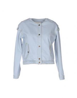 Джинсовая верхняя одежда NANUSHKA. Цвет: синий