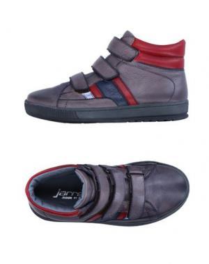 Высокие кеды и кроссовки JARRETT. Цвет: свинцово-серый