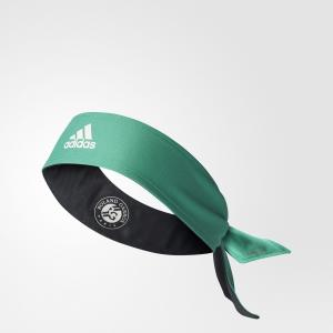 Повязка на голову Roland Garros Player  Performance adidas. Цвет: белый