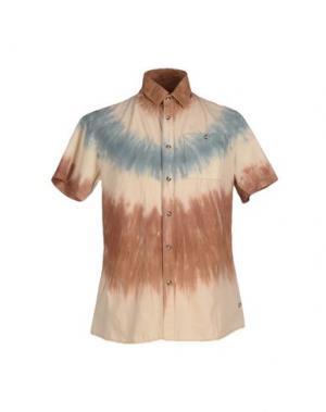 Pубашка ALTAMONT. Цвет: коричневый