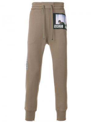 Спортивные брюки Helmut Lang. Цвет: телесный