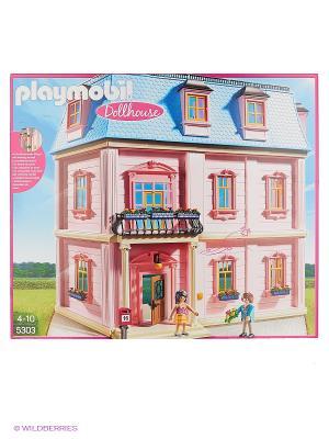 Кукольный дом: Романтический дом Playmobil. Цвет: розовый