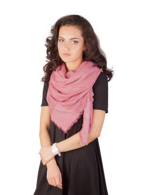Платок Элеганс (розовый) Le Motif Couture. Цвет: розовый