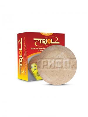 Камень минеральный с микроэлементами для птиц TRIOL. Цвет: оранжевый