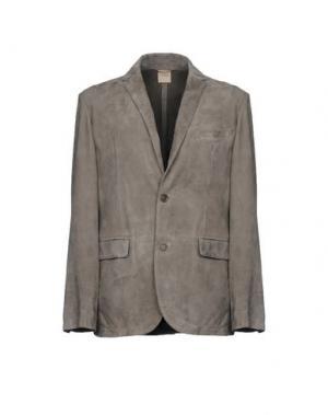 Пиджак D'AMICO. Цвет: серый