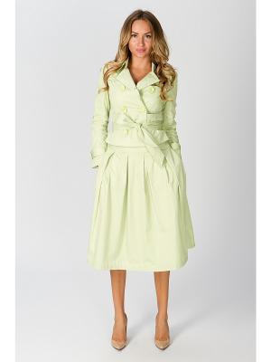 Куртка ODRI. Цвет: светло-зеленый