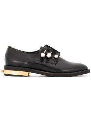 Ботинки Дерби Fernanda Coliac. Цвет: чёрный