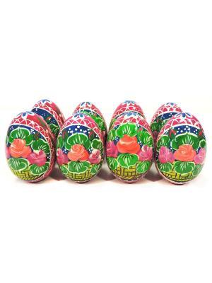 Пасхальные яйца - Набор №16 Taowa. Цвет: синий, малиновый