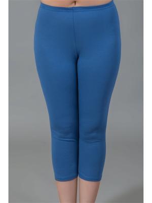 Бриджи женские НАТАЛИКА. Цвет: серо-голубой