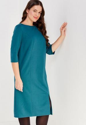 Платье Sparada. Цвет: бирюзовый