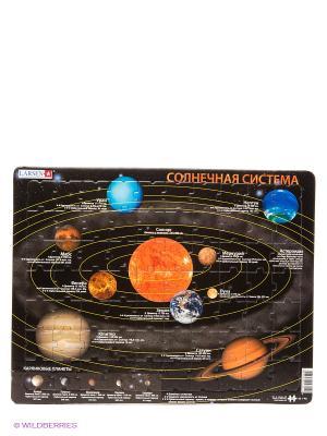 Пазл Солнечная система LARSEN AS. Цвет: черный