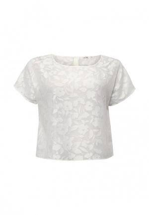 Блуза UNQ. Цвет: белый