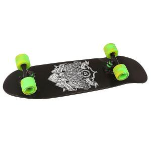 Скейт мини круизер  An Dinghy Sketch Assorted 8 x 28.5 (72.4 см) Landyachtz. Цвет: черный