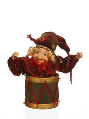 Кукла Петрушка DAVANA. Цвет: красный, золотистый