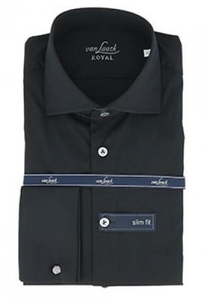 Рубашка VAN LAACK. Цвет: черный