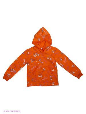 Худи BABYSITO. Цвет: оранжевый