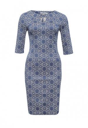 Платье Yarmina. Цвет: синий