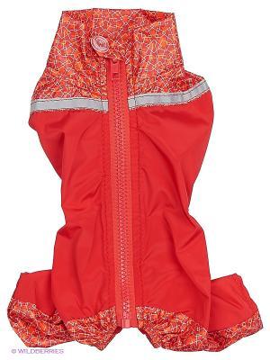 Дождевик холодный (Чихуахуа) ТУЗИК. Цвет: красный