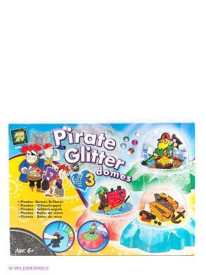 Набор Создай сувенир-пираты AMAV. Цвет: желтый, голубой