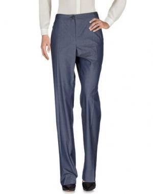 Повседневные брюки AKRIS. Цвет: синий