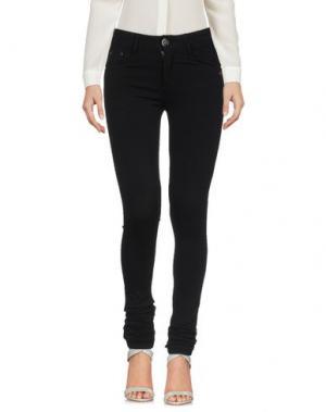 Повседневные брюки CUPLÉ. Цвет: черный
