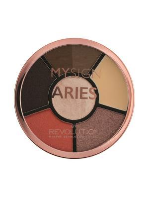 Палетка для макияжа глаз Complete Eye Base Aries MakeUp Revolution. Цвет: черный, темно-коричневый
