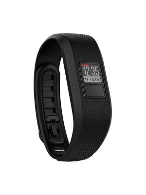 Фитнес-браслет Vivofit 3 черный большой размер GARMIN. Цвет: черный