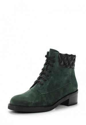 Ботинки Ekonika. Цвет: зеленый