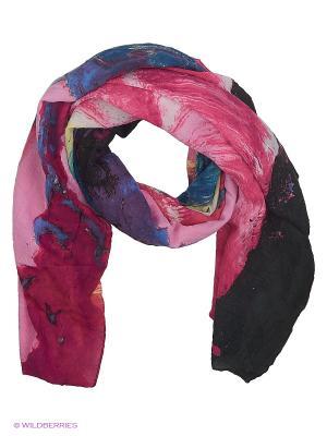 Парео текстильное Vittorio Richi. Цвет: малиновый, синий