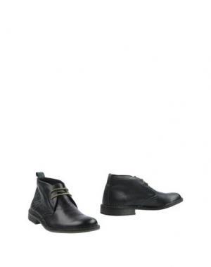 Полусапоги и высокие ботинки BRUNO MAGLI. Цвет: зеленый
