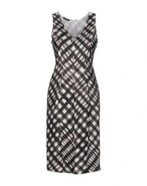 Короткое платье HANITA. Цвет: свинцово-серый