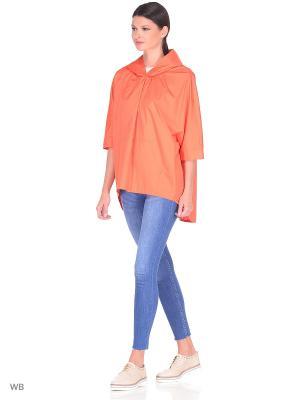 Куртка ONLY WAY. Цвет: оранжевый